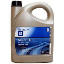5 LT Olio Motore Originale GM OPEL Dexos2 5w30 Acea C3 MOTORI BENZINA E DIESEL