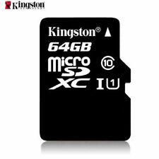 High Speed K 64GB 80MB/S TF Flash MicroSD Memory Card Class10 UHS-I With Adapter