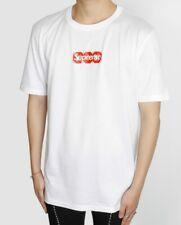 Authentic Louis Vuitton X Supreme LV Box Logo Tee Shirt in Medium