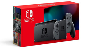 New Factory Sealed Nintendo Switch HADSKAA Console with Gray Joy‑Con
