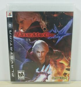 Devil May Cry 4 - Sony Playstation 3, 2008 - Complete & Tested