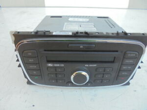 FORD FOCUS 2008 CD RADIO HEAD UNIT WITH CODE