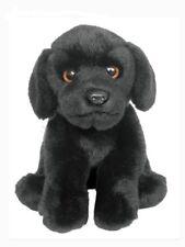 Faithful Friends Labrador Dog 23cm Soft Plush Stuffed Animal Toy - Black