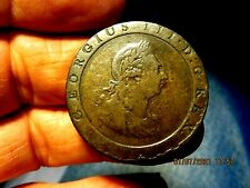 HIGH GRADE GREAT BRITAIN GEORGE III 1797 TWOPENCE 2 PENCE CARTWHEEL