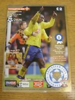 14/04/1998 Leicester City v Southampton  . Thanks for viewing this item availabl