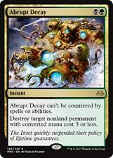 ABRUPT DECAY Modern Masters 2017 MTG Gold Instant Rare