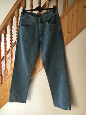 Mens wrangler relaxed fit jeans W33 L30 blue