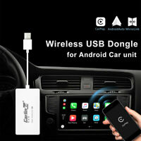 Wireless Bluetooth USB Carplay Dongle for iPhone Android Car Auto Navigator Play