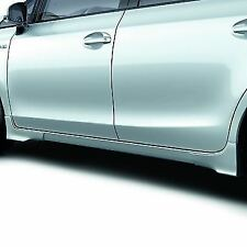 Genuine Toyota Prius+ Side Skirts (Painted Black 202) 08150-47820-C0