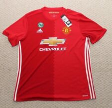 Adidas Manchester United Jersey - Home  Chevrolet Mens XL Red EPL NWT