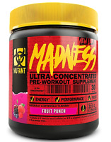 Mutant MADNESS Pre-Workout Powder 225g (7.94oz) 30 Servings Energy & Focus
