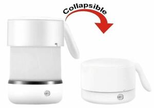 NEW Foldable Travel Electric Tea Kettle Boil Hot Water while Camping or Prepping