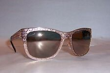 NEW GUCCI SUNGLASSES GG 4266/S DDB-0J GOLD/GRAY ROSE MIRROR AUTHENTIC
