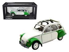 1/18 Norev 1985 Citroen 2CV Dolly Green White Diecast White Green 181512