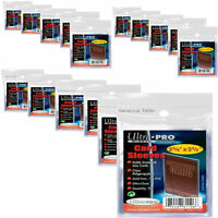 10000 1000 800 400 Ultra Pro Sports Card Soft Penny Sleeves FREE Post WHOLESALE