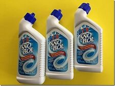 3 Bottles of SnoBol Toilet Bowl Cleaner 24fl.oz Removes Rust & Hard Water Stains