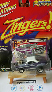 Johnny Lightning Freaks Zingers 1970 Plymouth GTX violette (NG33)