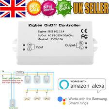 Smart Zigbee On/Off Controller Single Channel Switch for Alexa / SmartThings App