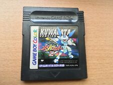 Medarot 2: Kuwagata Version Game Boy Color Nintendo Japan Import