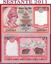 NEPAL - 5 RUPEES ND ( 2005 ) SIGN 15  - P 53a    - FDS / UNC