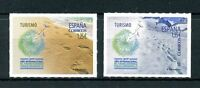 Spain 2017 MNH Int Year of Sustainable Eco Tourism 2v S/A Set Snow Beach Stamps