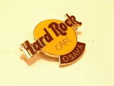 OSAKA  Classic Logo HARD ROCK CAFÉ PIN B15-240 MINT CONDITION  3 lines of inscri