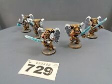 Warhammer 40,000 Space Marines Blood Angel Sanguinary Guard Ready for Basing 729