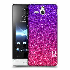 HEAD CASE DESIGNS OMBRE GLITTER TREND MIX BACK CASE FOR SONY XPERIA U ST25i
