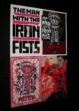 Original MAN WITH THE IRON FISTS Tarantino RZA Martial Arts Movie Theatre O/S