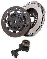 Clutch Kit 3Pc Compatible with Ford Focus CMaxII 1.4 1.6 1.8 Ti 16V 2004 Onwards