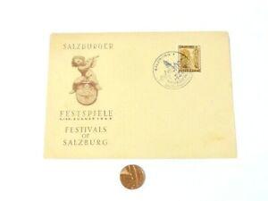 1946 Austria Salzburger Festspiele Festivals of Salzburg Postal Cover