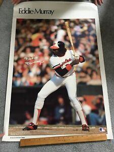 Eddie Murray Baltimore Orioles 1980s Vintage Sports Illustrated SI Poster UNUSED