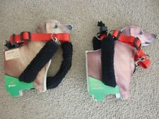 Sporn Pet Medium Non Pulling Mesh Harness Red and Black