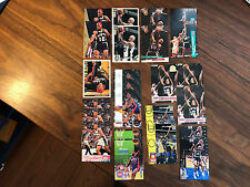 1993-95 Dennis Rodman Chicago Bull Basketball Lot of 34 cards, NR-MT OR BETTER