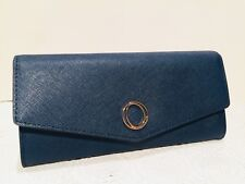 Oroton METIER Slim Clutch Ladies Wallet Navy