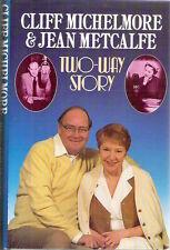 Cliff Michelmore Jean Metcalfe TWO-WAY STORY 1st hardback dj TV Radio 1986 Rare!