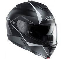 Casco Helmet MODULARE  HJC IS-MAX 2  MC5SF OPACO NERO/GRIGIO TAGLIA S