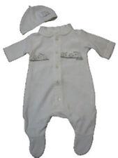 Ex Store Sleepsuit Set Unisex White Baby 6-9 20 lbs