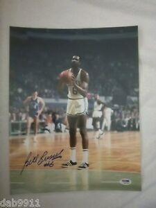 Bill Russell Boston Celtics SIGNED 11x14 photo PSA/DNA