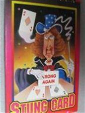 Magic Trick Stung Card - Chu