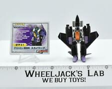 Skywarp GTF 01 WST Worlds Smallest Takara Series 1 2004 G1 Transformers