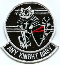 TOMCAT F-14 FIGHTER SQN COLLECTIONS VF-154 BLACK KNIGHTS Any Night Baby INSIGNIA
