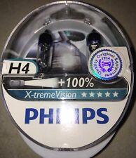 H4 Xtreme Vision X Treme Vision Coche Headlight Bulbs Bombillas Philips H4 Bombillas Par