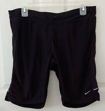 Men's Nike Drifit Bike Cycling Shorts Zip Pocket Black Sz Xl