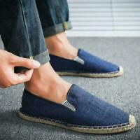 Mens Loafers Pumps Outdoor Espadrilles Slip On Soludos Leisure Summer Shoes New