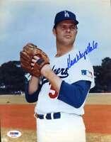 Don Drysdale Psa Dna Coa Autographed Dodgers 8x10 Photo  Hand Signed Authentic