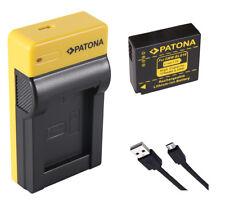 USB-Ladegerät + Akku Panasonic Lumix DMC-GX80, DMC-TZ81, DMC-TZ101 - DMW-BLG10-E