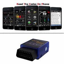 ELM327 Bluetooth Car OB D2 Diagnostic Code Scanner Reader Scan Tool For Phone