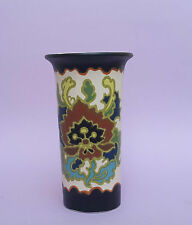 Gouda -Plateel Vase Keramik  Art Deco Holland Dekor Modica