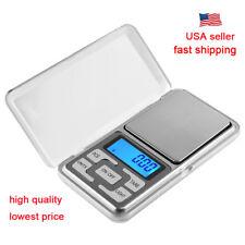 200g x 0.01g Mini Digital Scale Jewelry Pocket Balance Weight Gram LCD